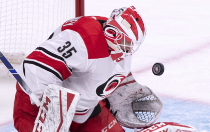 McElhinney makes his mark with Canes