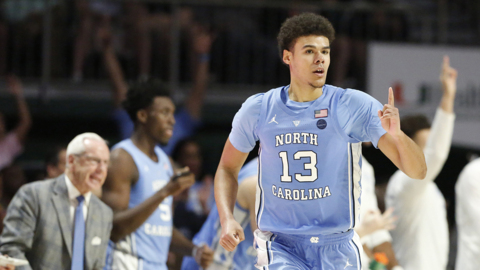 UNC's Cam Johnson: 'My teammates got me good looks, and I just had to do the easy part'
