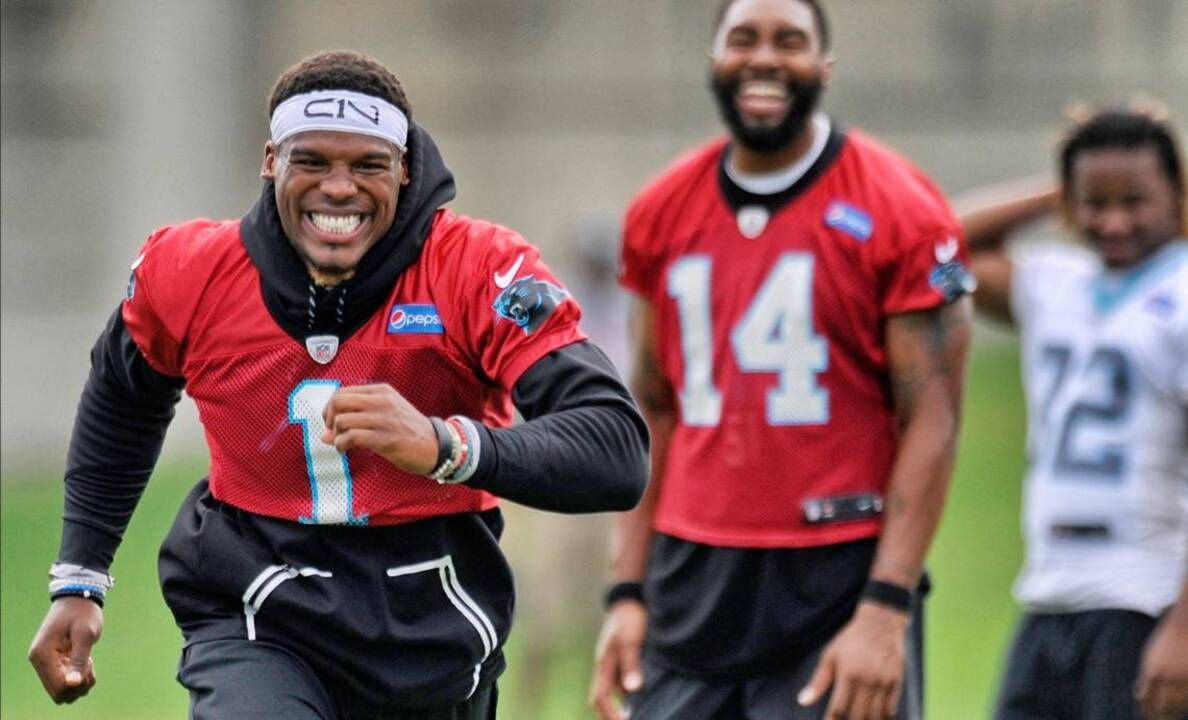 fefcfbc0 Cam Newton will be limited in camp, but Panthers not worried ...