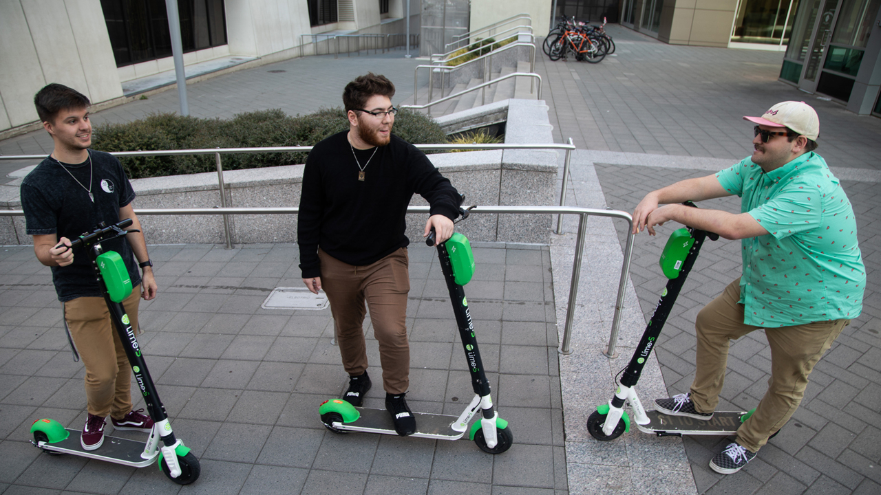 Raleigh recommends Gotcha electric scooter company | Raleigh