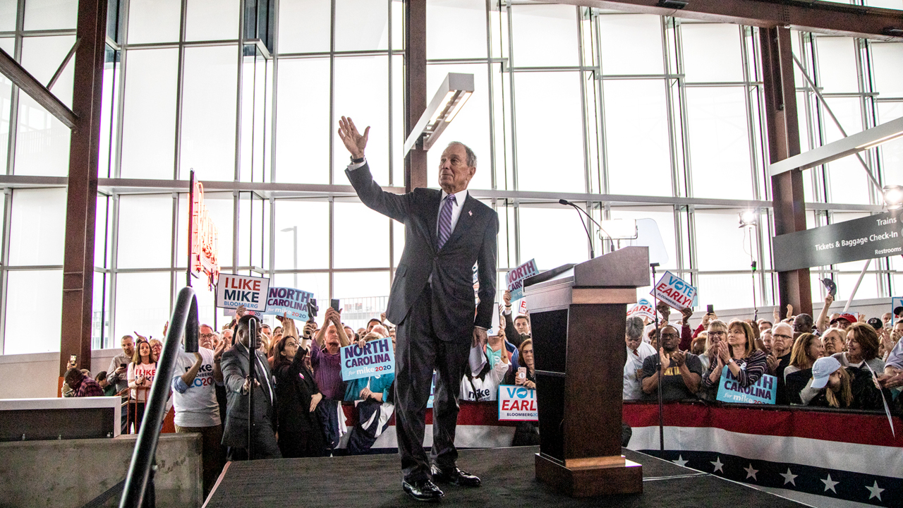 Mike Bloomberg returning to Charlotte for NC Democratic fundraising event