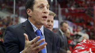 New Carolina Hurricanes coach Rod Brind'Amour's career in pictures