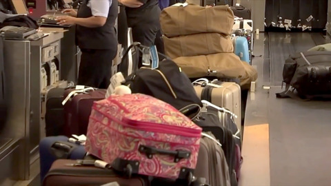 Busted baggage conveyor delays travelers at RDU airport