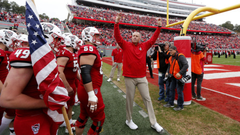NC State's Doeren says the Wolfpack deserves to be in an elite bowl game