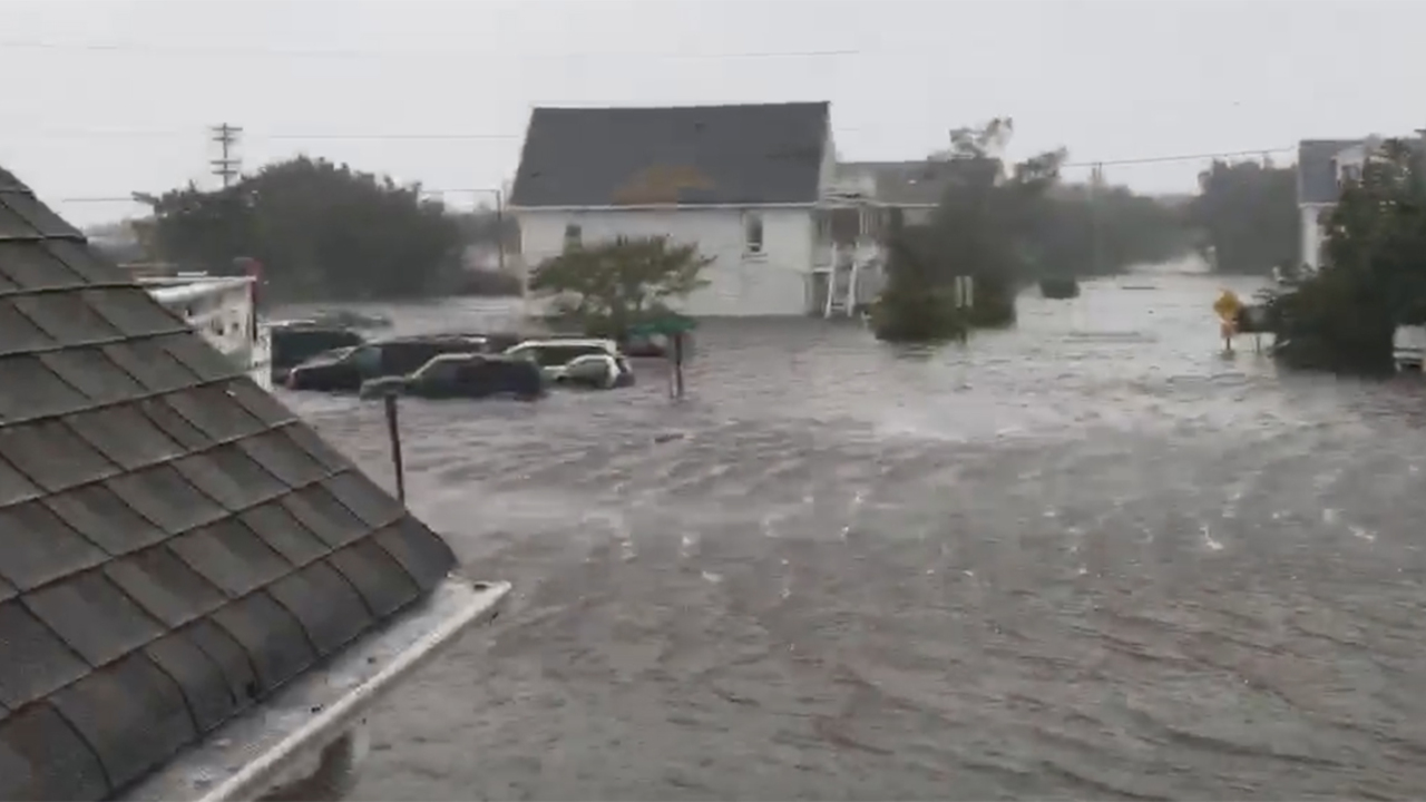 Hundreds trapped on Ocracoke Island after Hurricane Dorian makes landfall