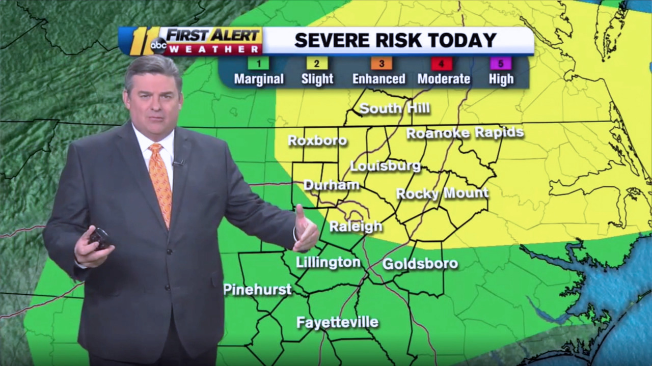 More storms expected in North Carolina, bringing risk of flooding and strong winds