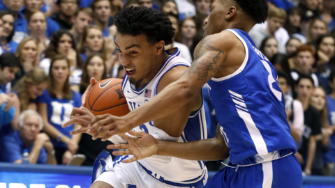 'He is one of the best players in the country and he showed it tonight' says Duke's Coach K on Tre Jones