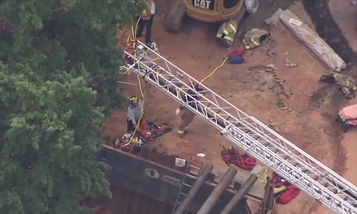 Two workers hospitalized after UNC-Chapel Hill construction
