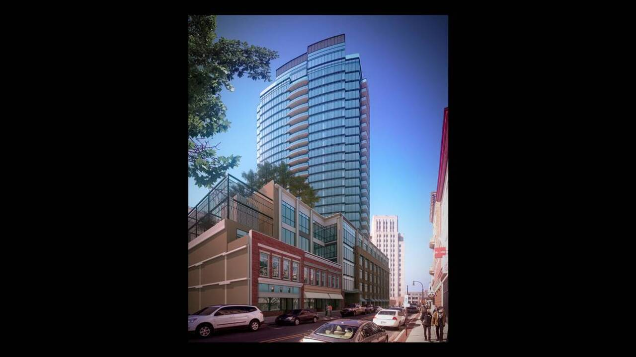 One City Center Owners Outline Plans For Tower Hotel In Downtown