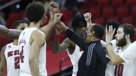 NC State's Keatts on the victory over Pitt