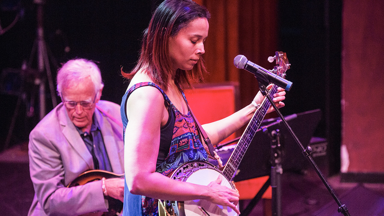 Rhiannon Giddens, Tar Heel of the Year finalist, uses music to enlighten and preserve past