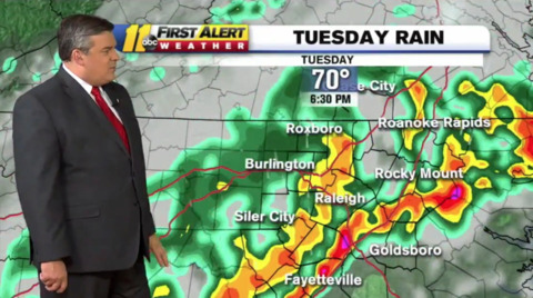 A break from heat in central NC? It may come with flooding, strong wind in some areas