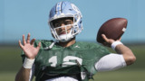 Chazz Surratt on becoming a better quarterback for the Tar Heels