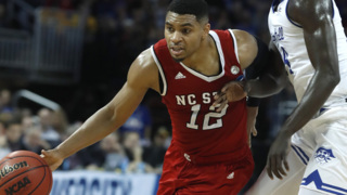 NC State's Allerik Freeman talks about losing his last college game despite scoring 36