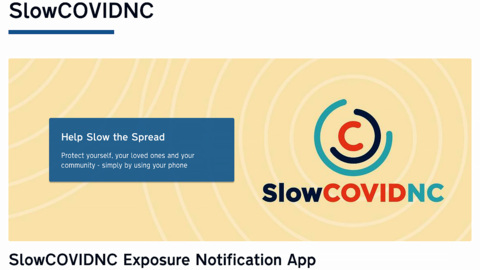 North Carolina DHHS rolls out smartphone app that can alert you to COVID-19 exposure