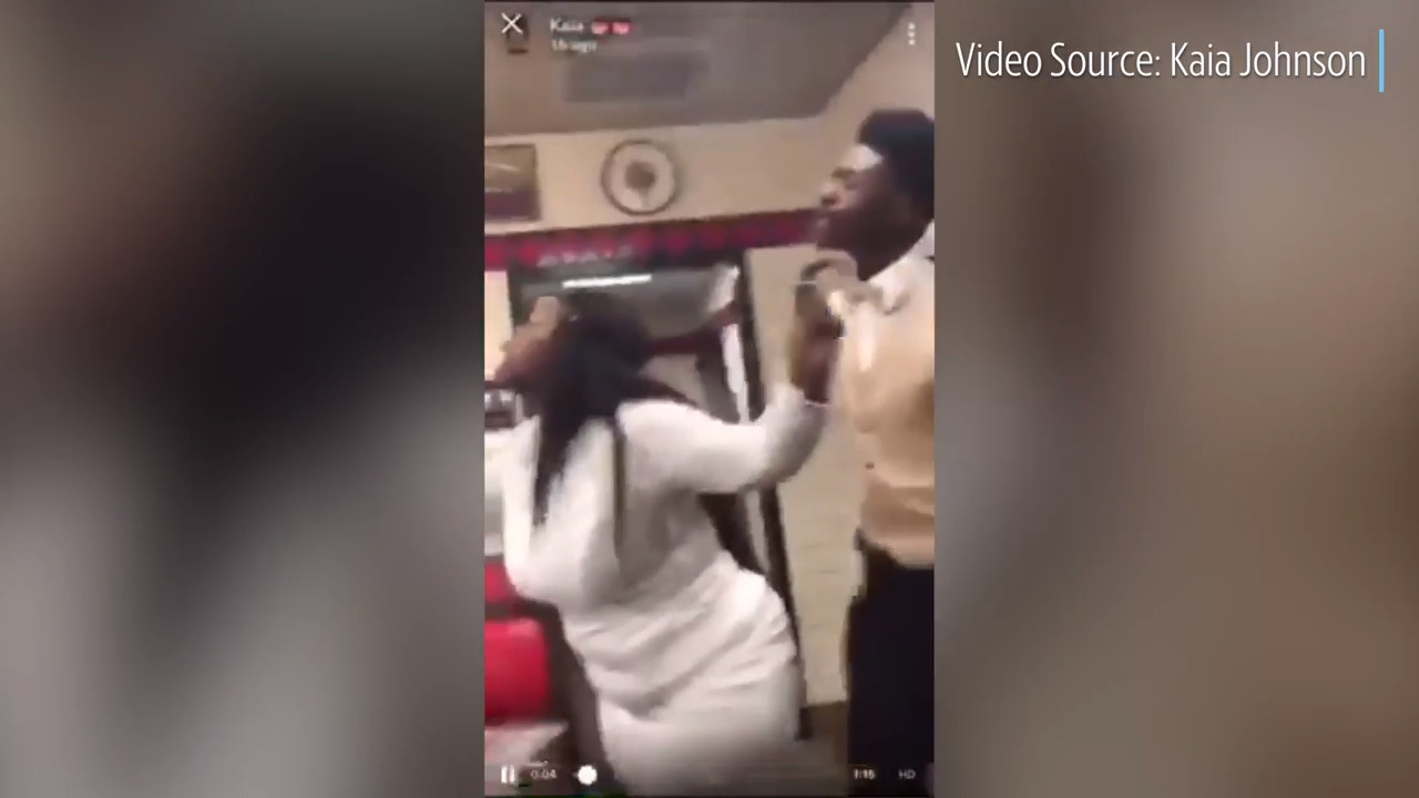 Video Shows Incident That Led To Waffle House Choking Arrest Of