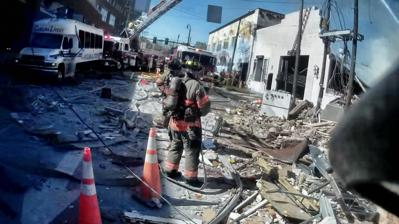 Durham releases video showing the emergency response to April's natural gas explosion