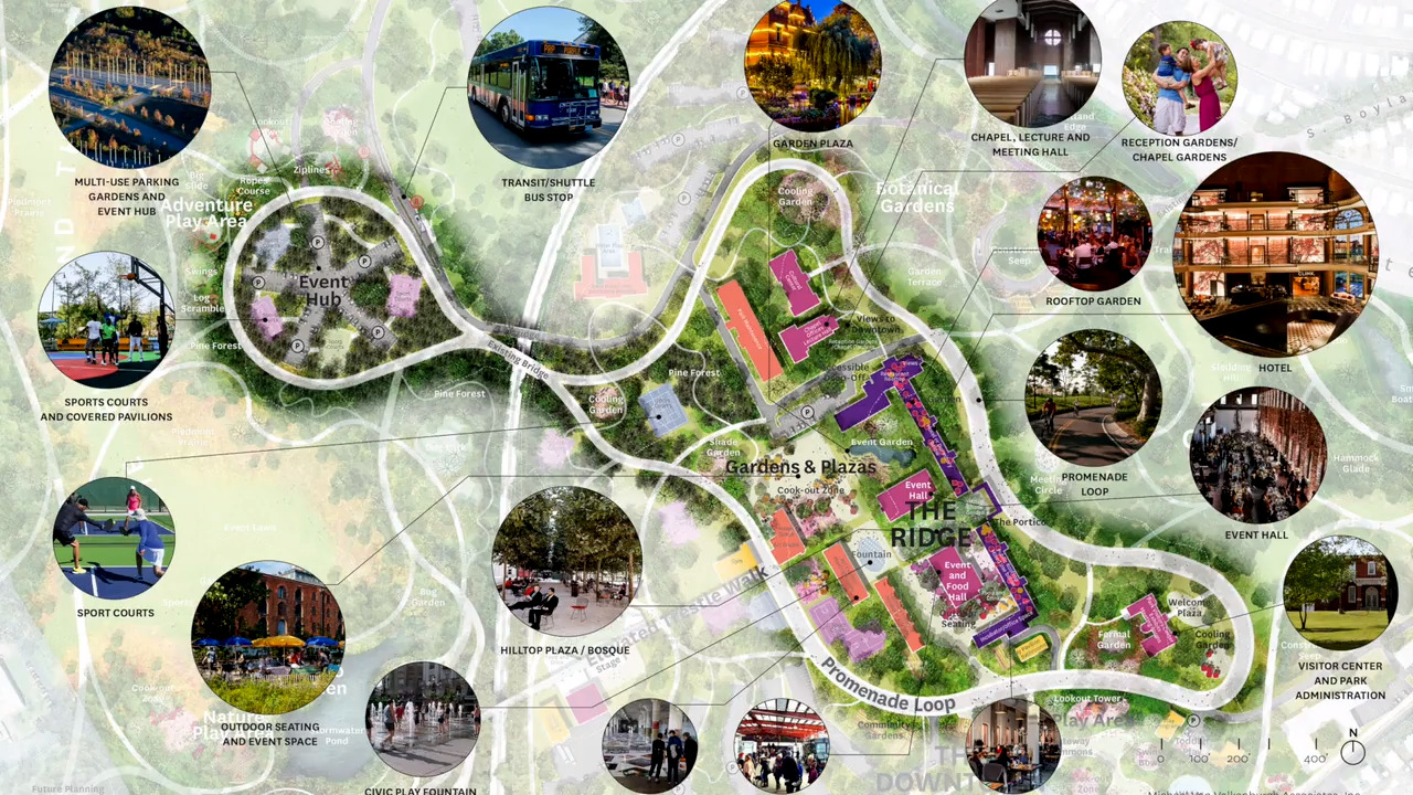 Raleigh leaders OK master plan for Dix Park