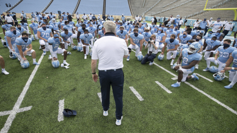 UNC football makes way for its first true freshman in the starting lineup this season