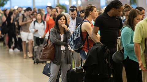 Got an early flight from RDU? Expect to wait in a long line