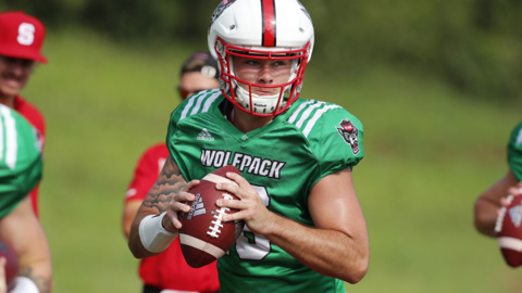 """NC State quarterback Bailey Hockman: """"I'm excited to get going'"""