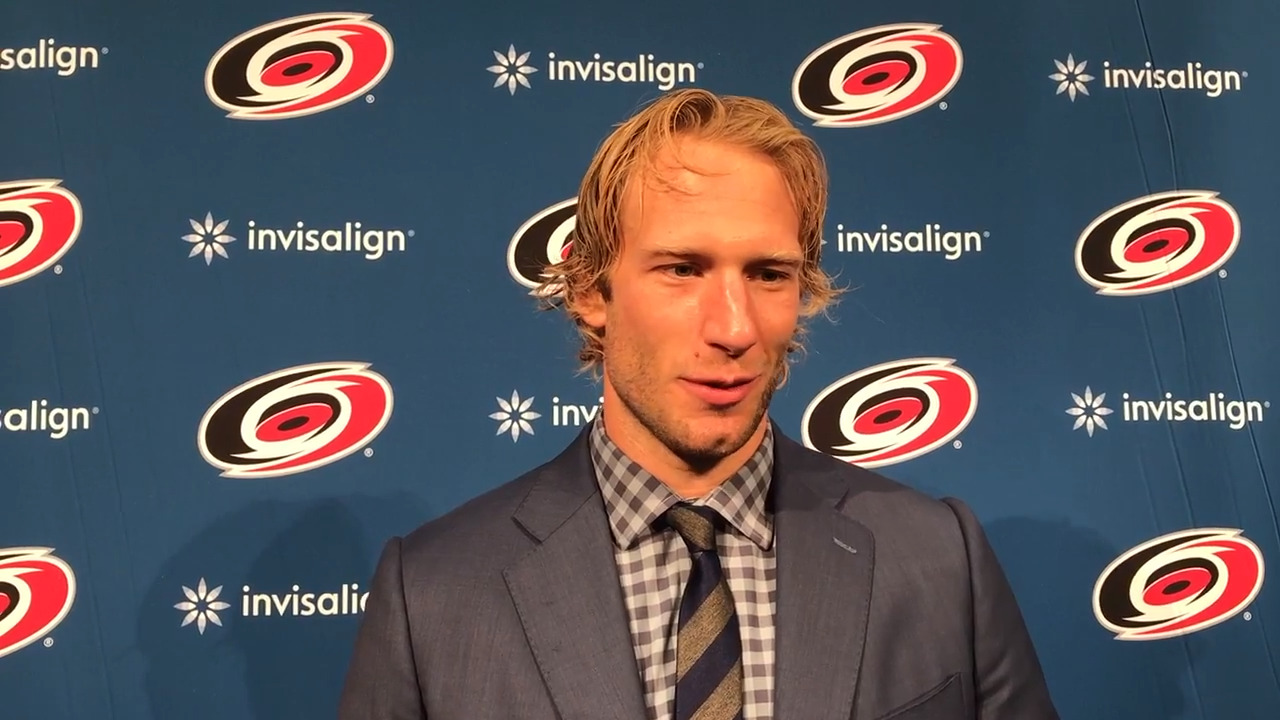 Jordan Staal faces his first challenge this season as the Hurricanes captain