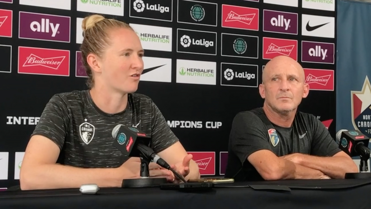 With comeback, NC Courage gets another shot at the world's best