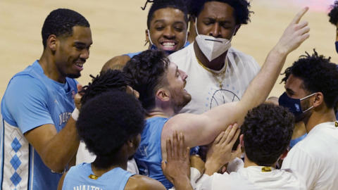 Photos from UNC's ACC basketball game against Miami
