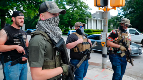 Blue Igloo gone: Did Facebook delete page tied to armed marches in Raleigh?