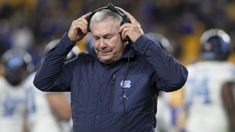 Mack Brown following loss to Pitt: 'I've failed the last two weeks'