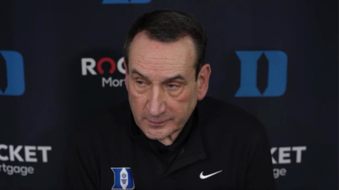 Duke's Coach K proud of his team after win over Syracuse