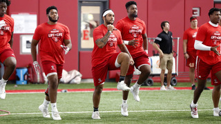 NC State football players raise money for rare disease research