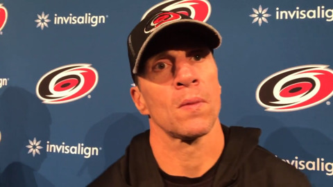 Hurricanes' top lines are intact early in training camp. Will they stay that way?
