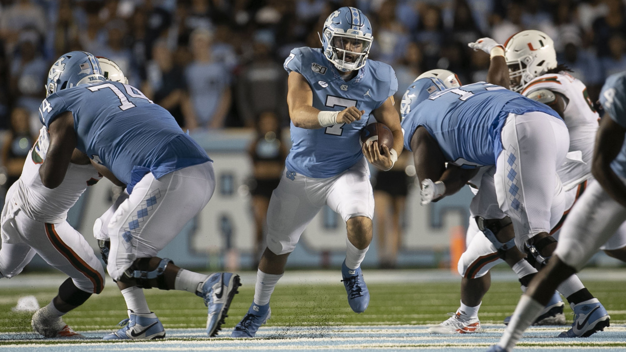 No stage too big for UNC quarterback Sam Howell yet