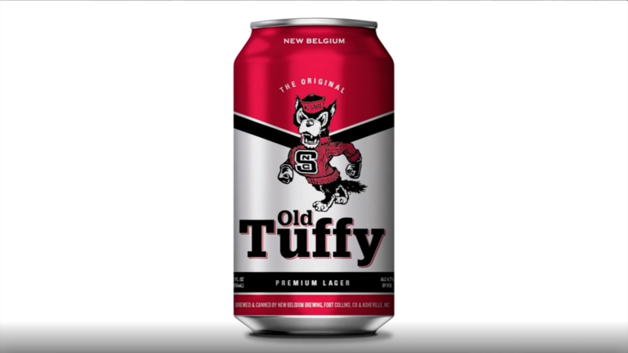 Wolfpack Nation, your beer is here. Old Tuffy, the NC State beverage, now in stores.