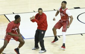 NC State's Kevin Keatts talks about the Wolfpack's NCAA Tournament game against Seton Hall