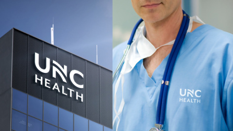 Goodbye Old Well. UNC Health Care has a new name and logo.
