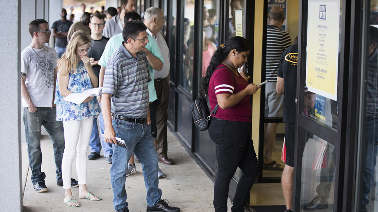 The summertime lines at the North Carolina DMV weren't as long this year. Here's why.