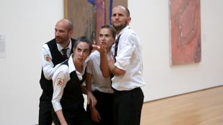 Dance Group Brings Movement to Art