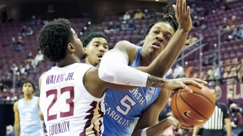 Photos from UNC's game against Florida State