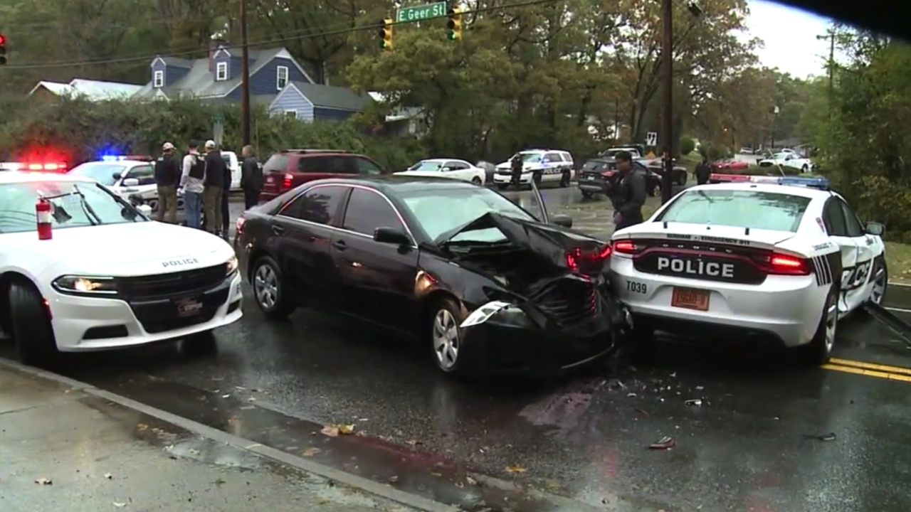 Durham teen charged in shooting and carjacking hits police car while fleeing