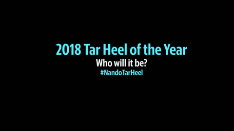 Who will be the 2018 Tar Heel of the Year?