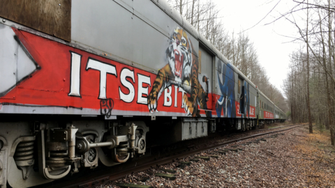 NCDOT bought part of a Ringling Bros. circus train and now isn't sure what to do with it