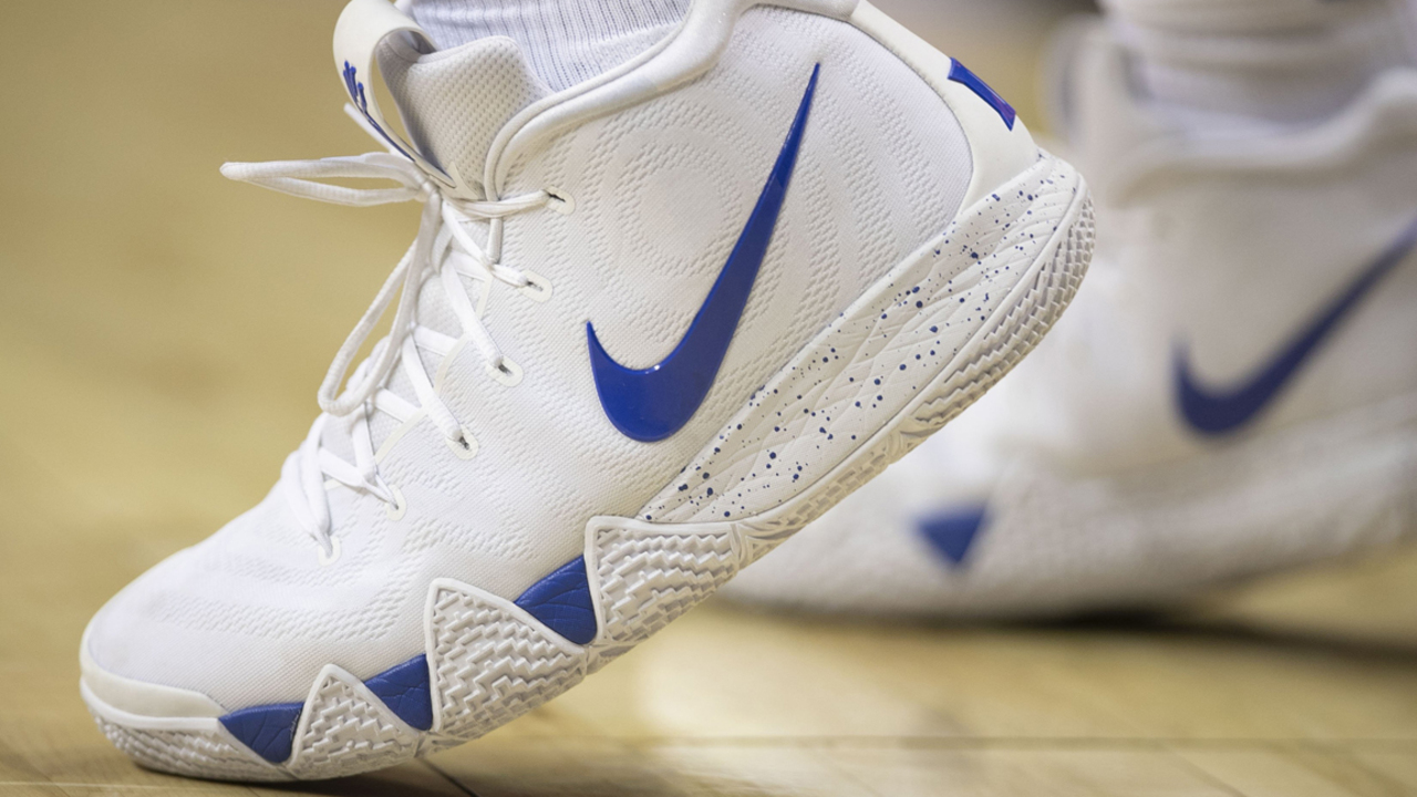 d6fe98100aae Nike designed a special version of its Kyrie Irving 4 shoes for Zion ...