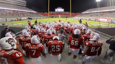 Watch the NC State Wolfpack football team take the field