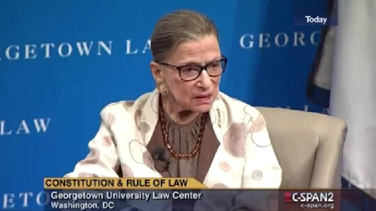 How to get tickets to Supreme Court Justice Ruth Bader Ginsburg's visit to Raleigh