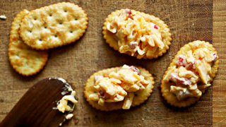 Learn how to make pimiento cheese in 35 seconds