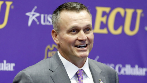 ECU's Mike Houston: 'We are eastern North Carolina's football program. In time, we will be North Carolina's football program'