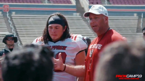 NC State's Seth Williams is called out by Coach Doeren - for the best of reasons