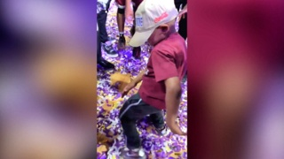 NCCU coach's son shows of crazy dance moves